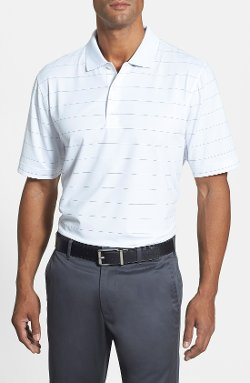 Cutter & Buck - Arlington Stripe DryTec Stretch Golf Polo Shirt