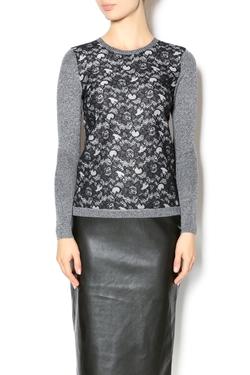Yal NY - Lace Print Sweater