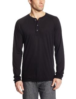 Splendid - Long Sleeve Henley Tee Shirt