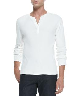 Ralph Lauren Black Label  - Long-Sleeve Ribbed Henley