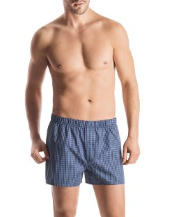 Hanro  Fancy  - Woven Check Boxer Shorts