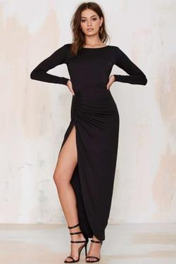 Nasty Gal - Lioness Found Love Slit Dress