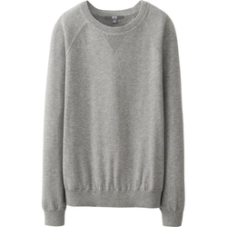 Uniqlo - Cashmere Crew Neck Raglan Sweater