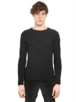 NEIL BARRETT  - WOOL/MOHAIR KNIT SWEATER
