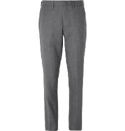 J.CREW   - BOWERY SLIM-FIT WOOL TROUSERS