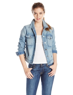 7 For All Mankind  - Pintuck Denim Jacket
