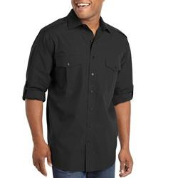 Synrgy -  Solid Casual Button-Down Shirt