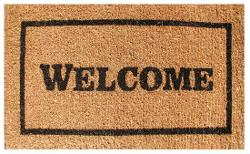 Home & Backyard - Welcome Coir Doormat
