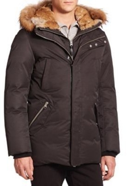 Mackage - Fur-Trim Hip-Length Down Jacket