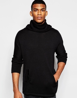 Asos - Extreme Cowl Neck Sweater