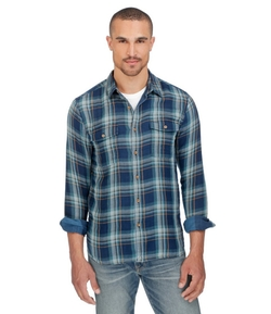 Lucky Brand - Military Plaid Shirt