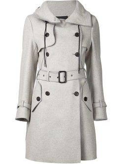 Derek Lam - Hooded Trench Coat