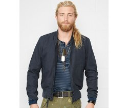 Denim & Supply  - Ralph Lauren Canvas Bomber Jacket