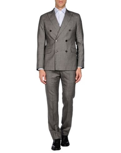 Armani Collezioni - Double Breasted Herringbone Suit