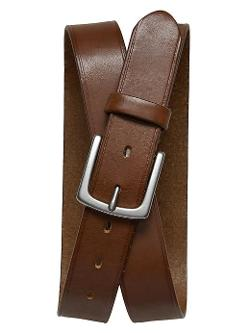 Banana Republic - Square Buckle Leather Belt