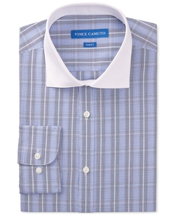 Vince Camuto - Contrast Collar Dress Shirt