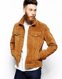 ASOS  - Suede Western Jacket
