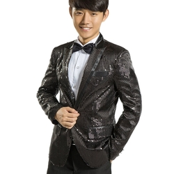 MYS - Gangnam Style Bling Sequins Party Tuxedo Suit