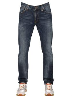 Nudie Jeans Co  - Thin Finn Stretch Cotton Denim Jeans