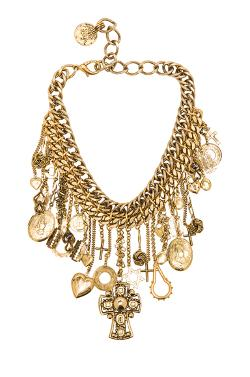 Erickson Beamon  - Charm Necklace In Gold
