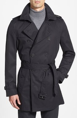 Burberry Brit - Wind & Water Resistant Trench Coat