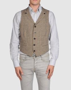 Yohji Yamamoto Pour Homme - Plain Weave Vest