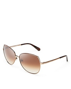 Kate Spade New York - Candida Oversize Metal Sunglasses
