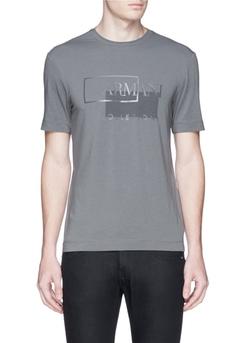 Armani Collezioni - Logo Print T-Shirt