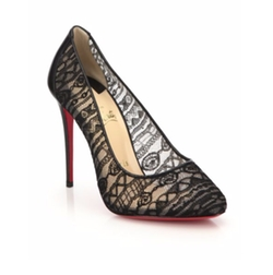 Christian Louboutin - Dorissima Lace Pumps