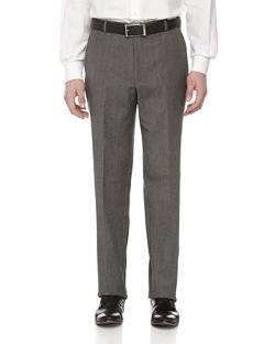 HICKEY FREEMAN  - Wool Herringbone Dress Pants