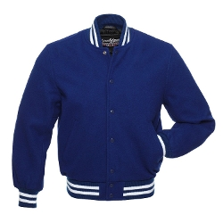 Stewart & Strauss - Wool Royal Blue Varsity Jackets