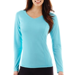 Made For Life - Long-Sleeve V-Neck Mesh T-Shirt
