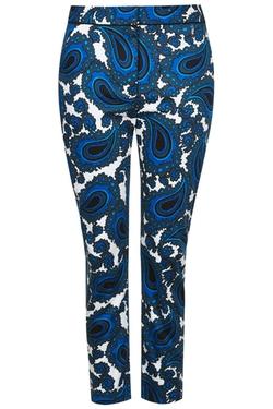 Top Shop - Paisley Print Cigarette Trousers