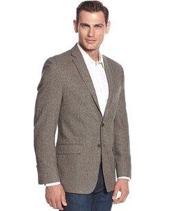 Calvin Klein  - Donegal Tweed Slim-Fit Sport Coat