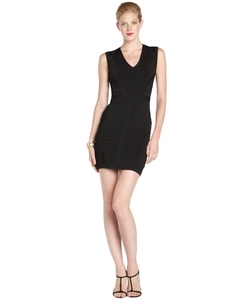 Lepore - Sleeveless V-Neck Banded Dress