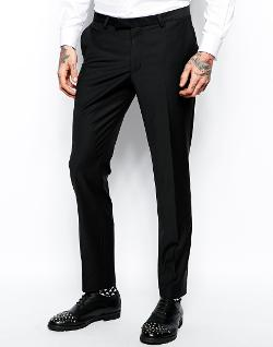 Noose & Monkey  - Suit Pants In Skinny Fit