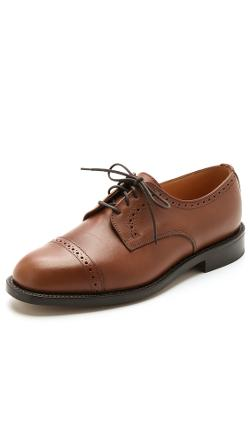 Mark McNairy New Amsterdam  - Brogue Cap Derby Shoes