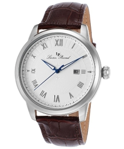 Lucien Piccard  - Solstice Brown Genuine Leather Watch