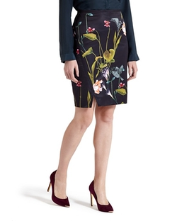 Ted Baker  - Renola Floral Pencil Skirt