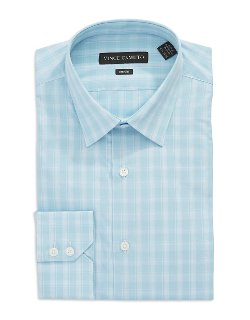 Vince Camuto  - Modern Fit Plaid Dress Shirt