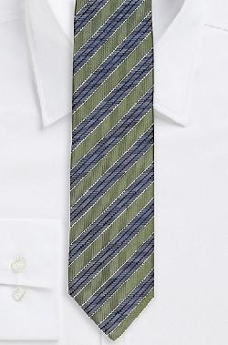 BOSS - Italian Silk Diagonal Stripe Tie