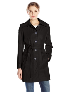 T Tahari - Laurel Single-Breasted Trench Coat