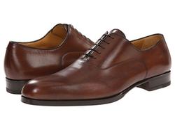 A. Testoni - Liscia/Delave Oxford Shoes