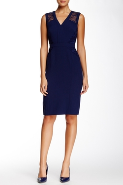 Anne Klein - Lace Sheath Dress