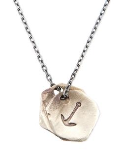 Miansai  - Anchor Medallion Necklace