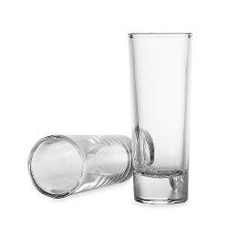 Circleware  - Blue Velvet 2 1/4-Ounce Shot Glasses