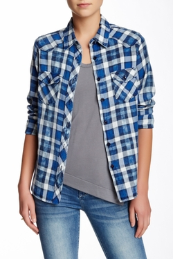 Chip Foster  - Western Plaid Shirt
