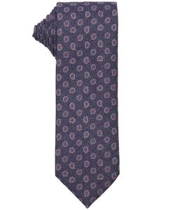 Ermenegildo Zegna  - Paisley Print Silk Tie