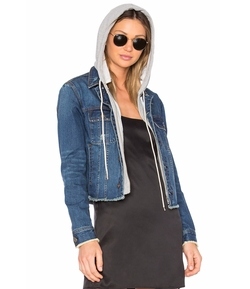 Central Park West - Beacon Hooded Jean Jacket