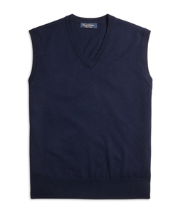 Brooks Brothers - Saxxon Wool Sweater Vest